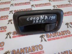 Ручка двери внутренняя. Toyota Corona, AT190