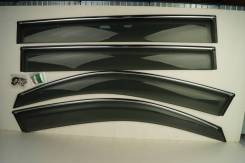 Ветровики (дефлекторы боковых окон) Toyota Highlander