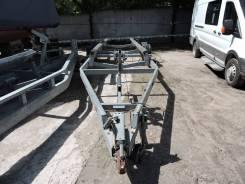 Двухосный прицеп М3СА для транспортировки катера с ПТС, до 3500 кг. Г/п: 3 500 кг.