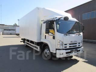 Isuzu Forward. 12.0 c промтоварным фургоном, 5 200 куб. см., 7 000 кг.