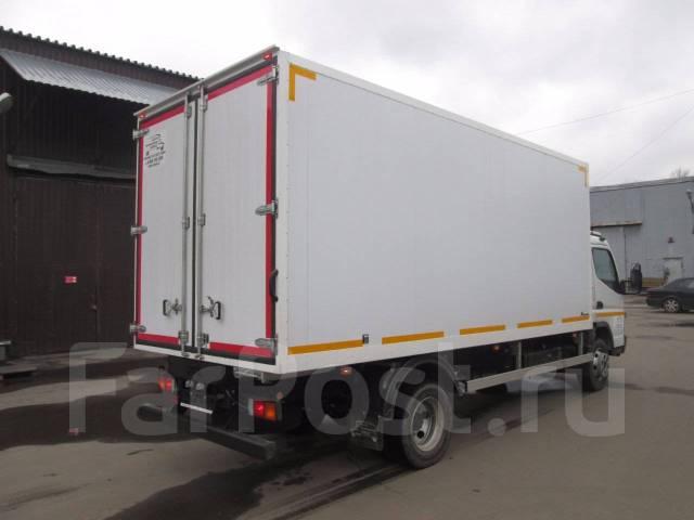 Mitsubishi Canter. Mitsubishi Fuso Canter c изотермическим фургоном, 4 900 куб. см., 5 000 кг.