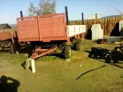 МТЗ 80. Прицеп автотракторный лесовозный, 5 000 кг.