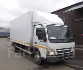 Mitsubishi Canter. Mitsubishi Fuso Canter с промтоварным фургоном, 4 900 куб. см., 5 000 кг.
