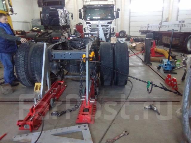 Кузовной ремонт грузовых автомобилей. Покраска. Ремонт рамы