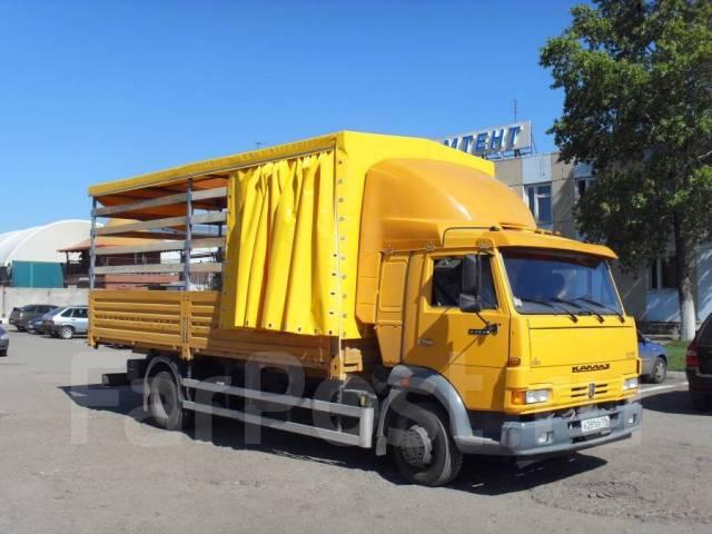 Камаз 4308. -3063-28 (R4) борт, тент, ворота, 3х-сторонняя штора, 6 700 куб. см., 5 730 кг.
