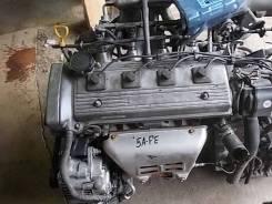 Двигатель в сборе. Toyota Corolla, AE100G, AE100 Toyota Sprinter, AE100 Двигатель 5AFE