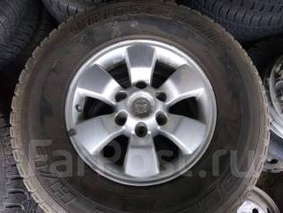 Шины Bridgestone 265/70R16 лето на литье Toyota Surf и т. д. 7.0x16 6x139.70 ET30