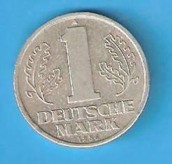 1 марка 1956 г. ГДР.