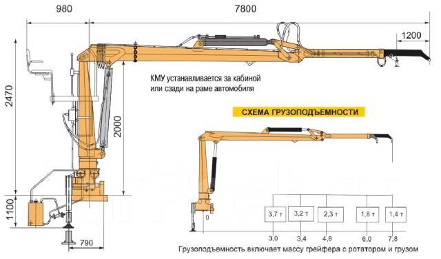 Камаз 65115. КМУ Ломовоз КамАЗ-65115-773094-42(Евро 4), кузов 30 куб., Майман-110S, 12 000 куб. см., 17 000 кг.
