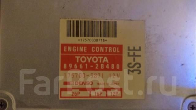 Блок управления двс. Toyota Carina E, ST191, ST191L Двигатель 3SFE