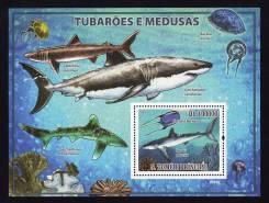 Сан Томе и Принсипе 2009.03.31 Mi3860(Bl677) рыбы
