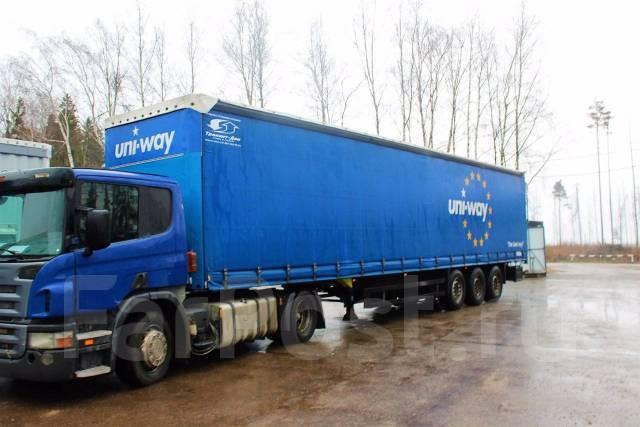 Schmitz. Шторный полуприцеп - 2011 год выпуска. Без пробега по РФ, 340 000 кг.