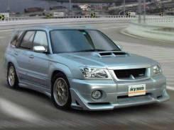 Обвес кузова аэродинамический. Subaru Forester, SG5. Под заказ
