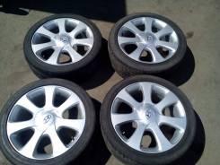 Hyundai. 7.0x17, 5x114.30, ET52, ЦО 67,1мм.