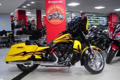 Harley-Davidson CVO Street Glide. 1 800 куб. см., исправен, птс, с пробегом