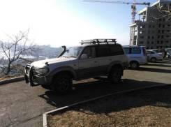 Багажник на крышу. Toyota Land Cruiser Toyota Land Cruiser Prado