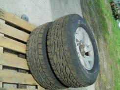 Bridgestone Dueler A/T. Всесезонные, 2010 год, износ: 20%, 2 шт
