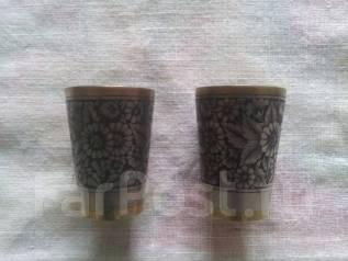 Продам позолоченные с чернённым серебром стопки. Оригинал