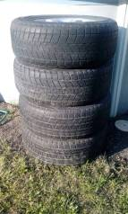 Продам комплект литых дисков с резиной (износ 80%)