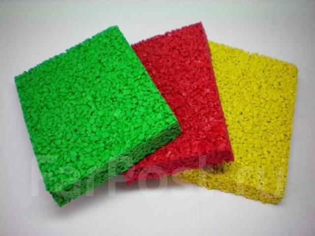Покрытия из резиновой крошки для детских и спортивных площадок.