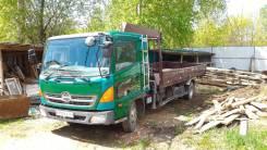 Hino Ranger. Продаётся грузовик с манипулятором HINO Ranger, 6 403 куб. см., 5 000 кг., 9 м.