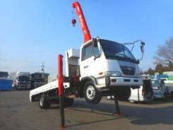 Nissan Diesel UD. Nissan UD Condor бортовой грузовик с манипулятором., 6 900 куб. см., 6 000 кг. Под заказ