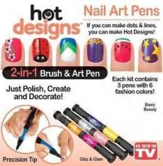 Слайдер-дизайн для ногтей.