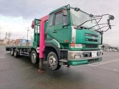 Nissan Diesel UD. бортовой грузовик с манипулятором., 21 200 куб. см., 20 000 кг. Под заказ
