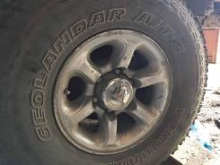 Колёса Yokohama Geolandar A/T-S 235x75 r15, износ < 5%, диски 6х139.7. 6x139.70 ЦО 108,0мм. Под заказ