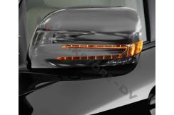 Корпус зеркала. Toyota Land Cruiser, UZJ200W, J200, GRJ200, URJ200, URJ202, UZJ200, VDJ200, URJ202W Двигатели: 1VDFTV, 1URFE, 3URFE, 1GRFE, 2UZFE