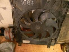 Вентилятор охлаждения радиатора. Nissan Dualis, J10