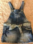 Сарафаны джинсовые. Рост: 80-86 см