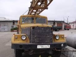 Краз 257. Автокран КрАЗ 257, 14 860 куб. см., 16 000 кг.