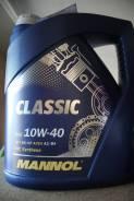 Mannol. Вязкость 10W-40, полусинтетическое