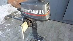 Yamaha. 4,00л.с., 2х тактный, бензин, нога S (381 мм), Год: 2004 год