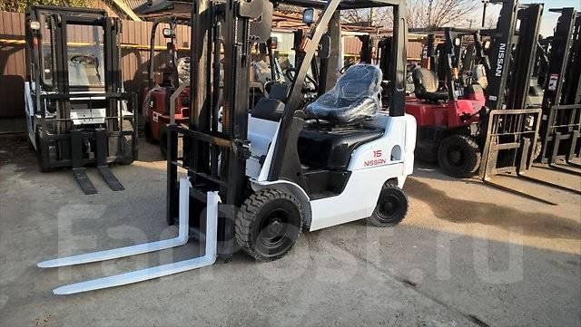 Nissan. Вилочный погрузчик L01A15W, 1 500 кг.