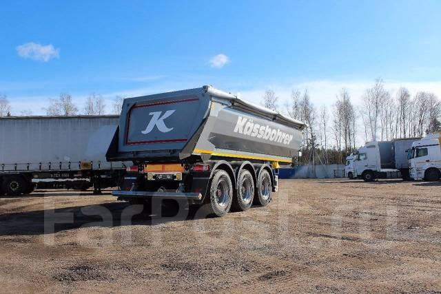 Kassbohrer. Самосвальный полуприцеп Год выпуска: 2017, 35 000 кг.