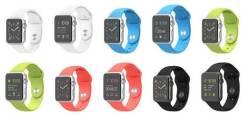 Цветные ремешки для Apple Watch Sport RG 38мм от магазина iStudio