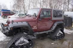 Гусеница. Jeep Wrangler