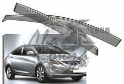 Ветровик на дверь. Hyundai Accent Hyundai Verna