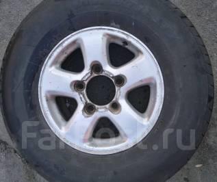 Комплект летних колес 275/70R16 Toyota Land Cruiser 100. 8.0x16 5x150.00 ЦО 110,0мм.