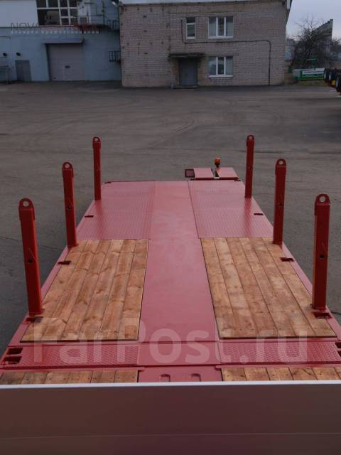 Тверьстроймаш. Новые полуприцепы ТверьСтройМаш 99393 Е38, 38 000 кг. Под заказ