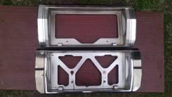 Рамка для крепления номера. Toyota Cresta, GX71 Toyota Mark II, GX71 Двигатель 1GEU
