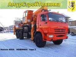 Hansin. Автовышка 450А на шасси Камаз 43118(6х6) в Москве, 10 850 куб. см., 45 м.