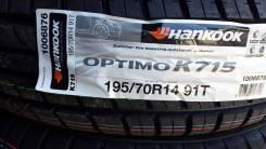 Hankook Optimo K715. Летние, 2017 год, без износа, 4 шт