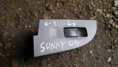 Кнопка стеклоподъемника. Nissan Sunny, B15