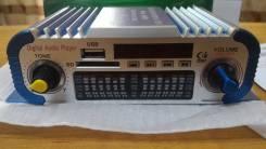 Продам для мото музыкальный MP3 усилитель с USB, FM-радио, пульт, 12v.