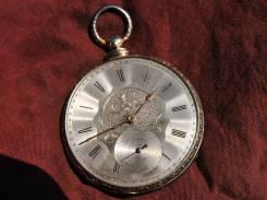 Карманные часы M. J. Tobias, серебро, позолота Прикоснись к истории. Оригинал