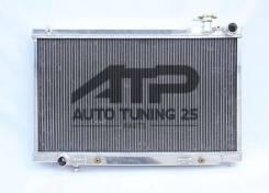 Радиатор охлаждения двигателя. Nissan Stagea, HM35, NM35 Nissan Skyline, HV35, NV35, PV35, V35 Двигатели: VQ35DE, VQ35HR