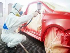 Кузовной ремонт и покрасочные работы.
